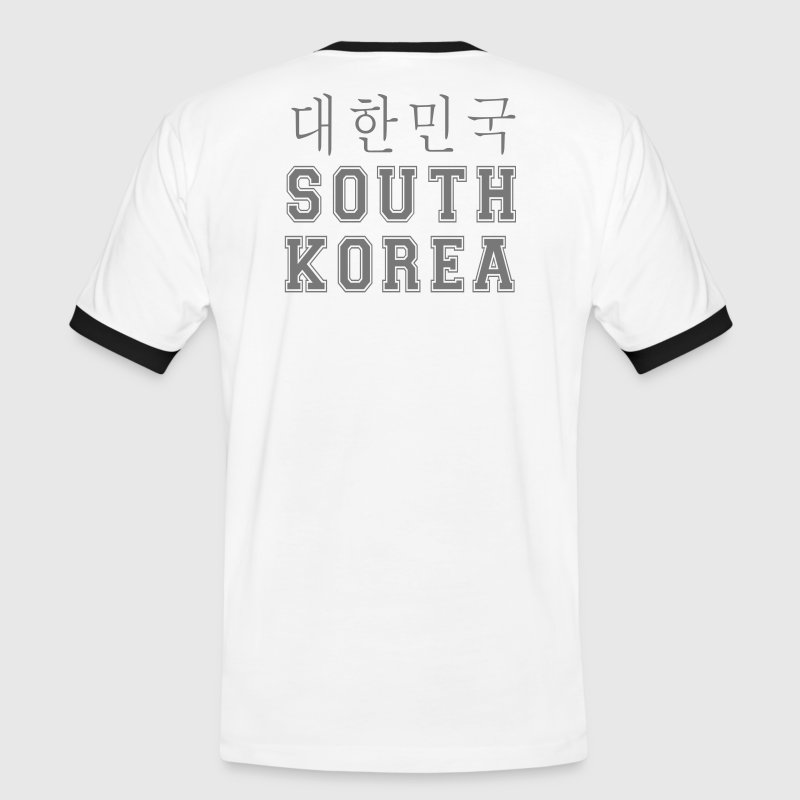 T-Shirt FOOT  south Korea - T-shirt contraste Homme