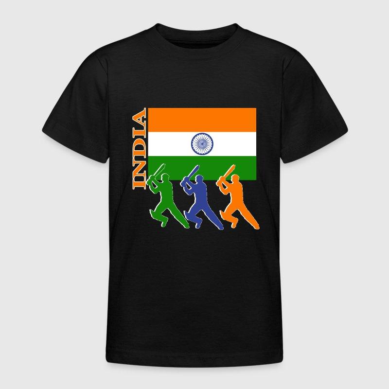 India Cricket Players Dark Bk Ground T Shirt Spreadshirt
