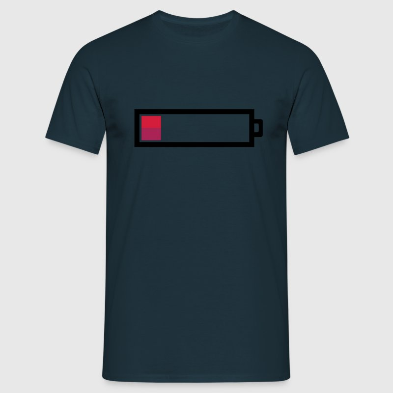 Empty Battery T-shirt - Men's T-Shirt