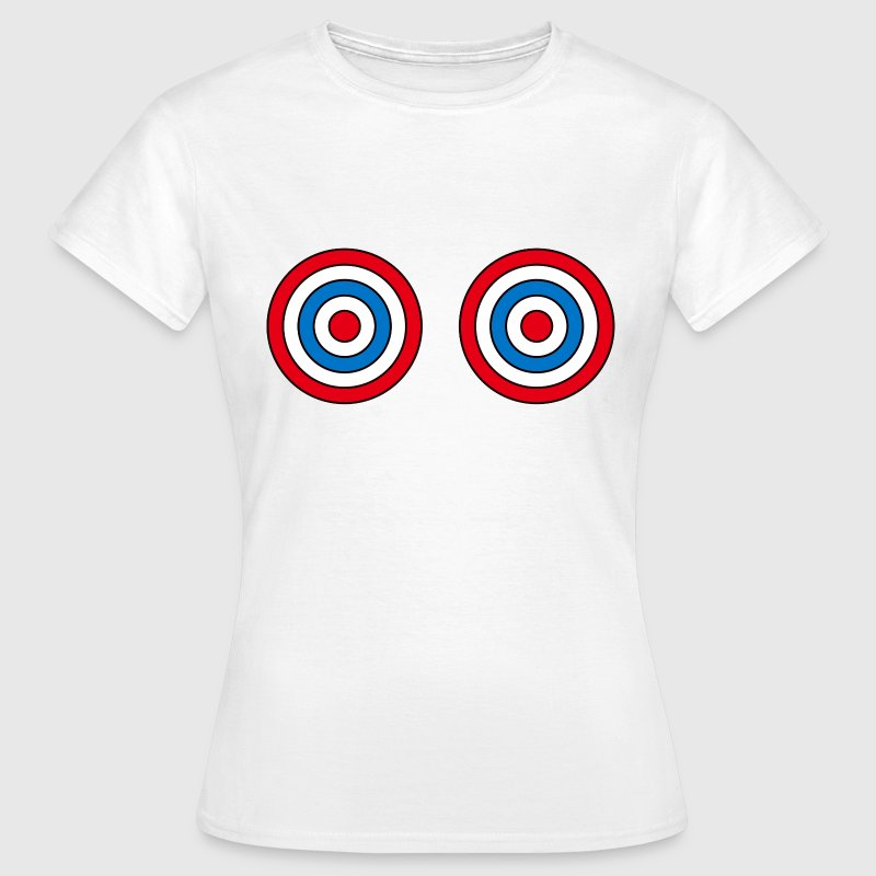 Primary target boobs t-shirt - Women's T-Shirt