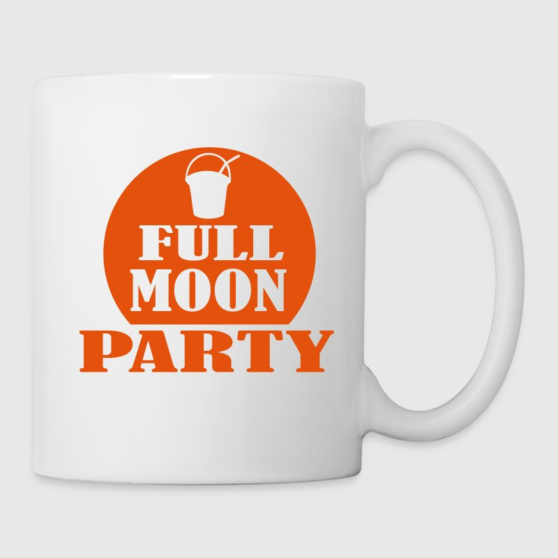 Blanc full moon party Tasses - Tasse