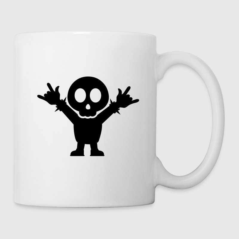 Heavy Metal Fan with rocking finger Fork - Mug