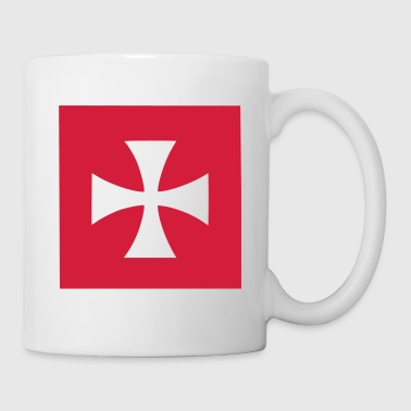 Red Cross Malta Knights Bags  - Mug