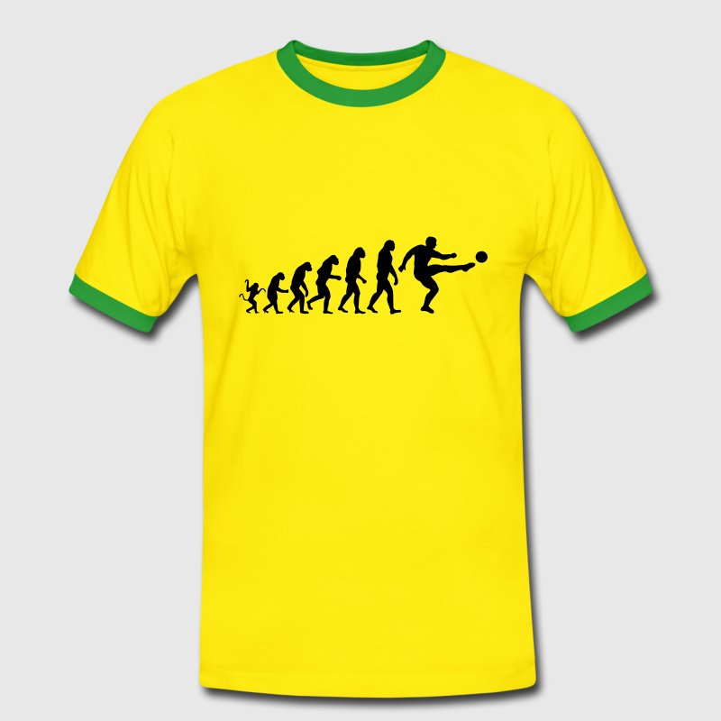 Soccer Evolution - Men's Ringer Shirt