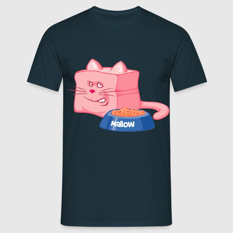 chat mallow - T-shirt Homme