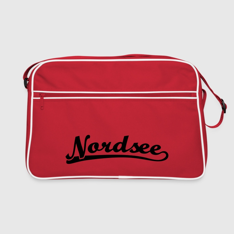 North Sea Font Retro - Retro Bag