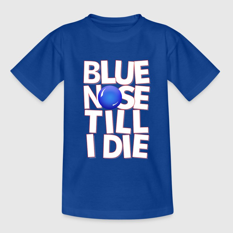 Royal blue bluenose Kids' Shirts - Teenage T-shirt