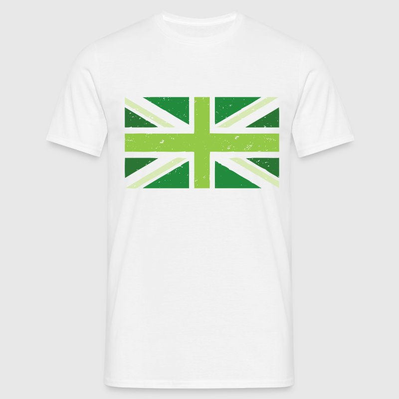 Green Union Jack - Men's T-Shirt