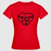 Tongue + sperm - Line - Women's T-Shirt