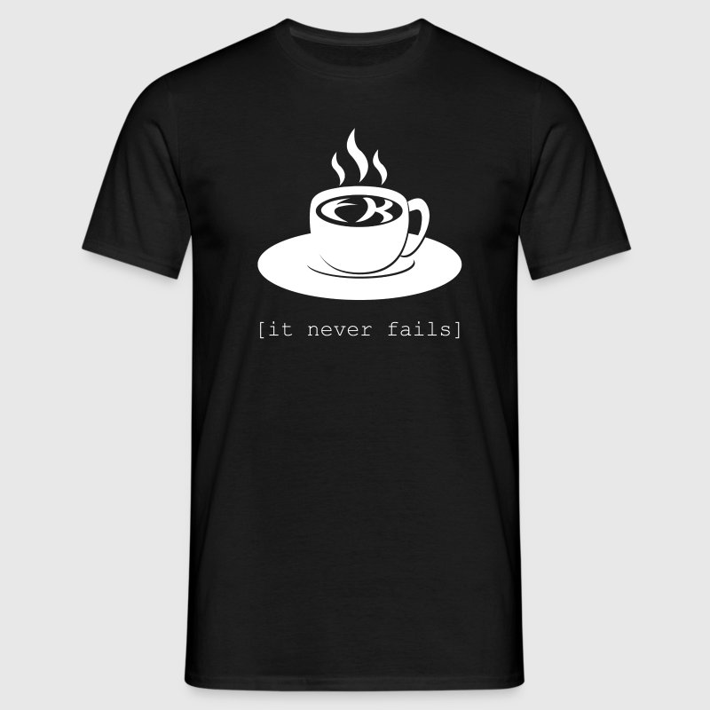 Schwarz FK in the coffee T-Shirts - Männer T-Shirt