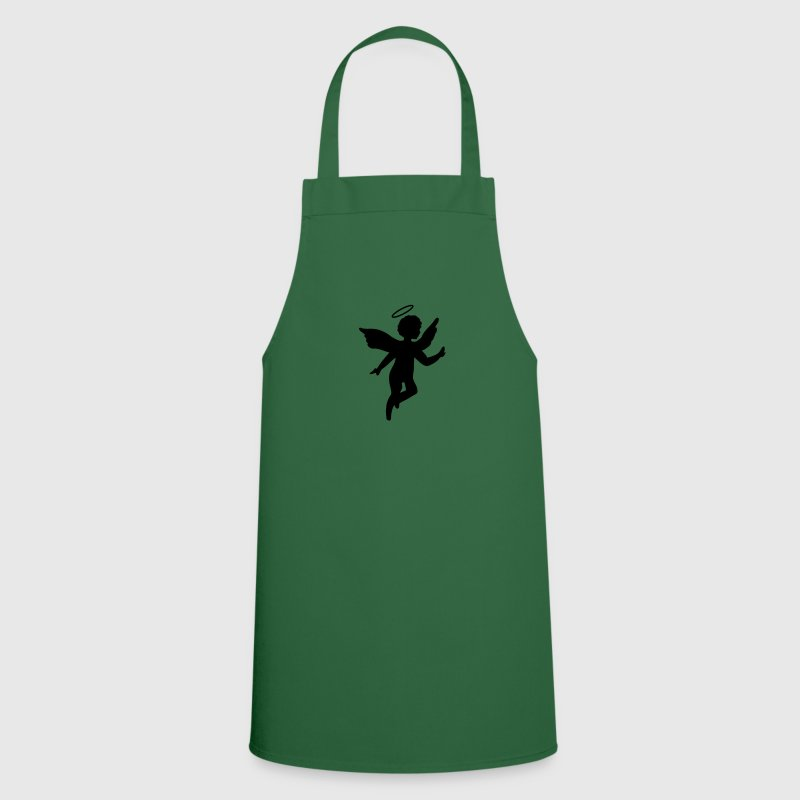 Green Little  with halo  Aprons - Cooking Apron