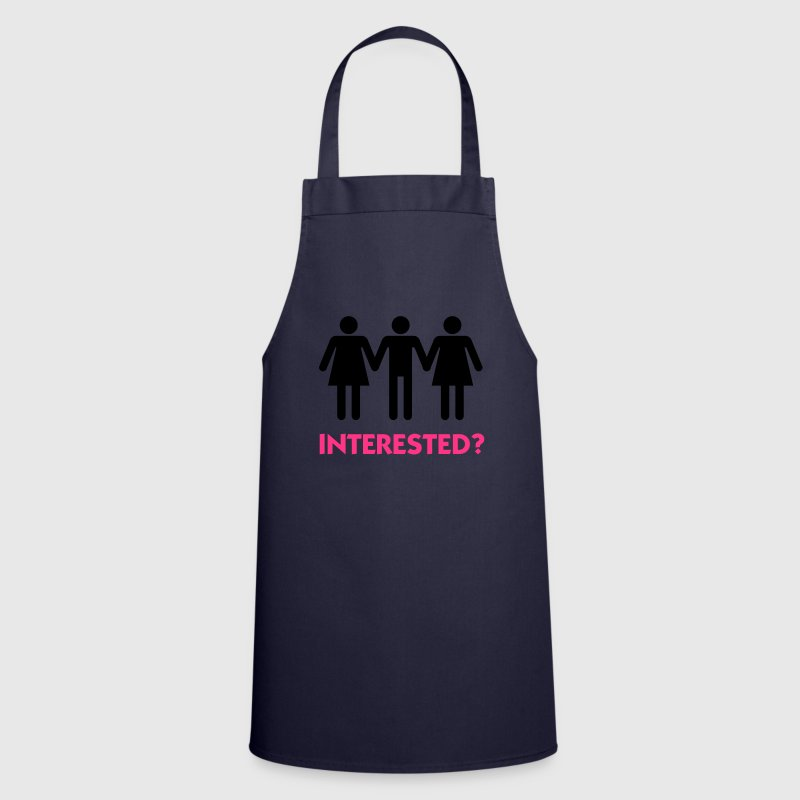 Navy Threesome Interested? (2c)  Aprons - Cooking Apron