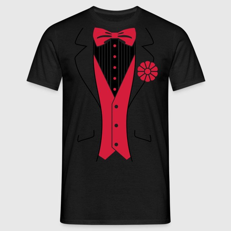 Tuxedo t shirt spreadshirt for Make your own tuxedo t shirt