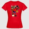 Red Spain's Football  Champion Bull Women's T-Shirts - Women's T-Shirt