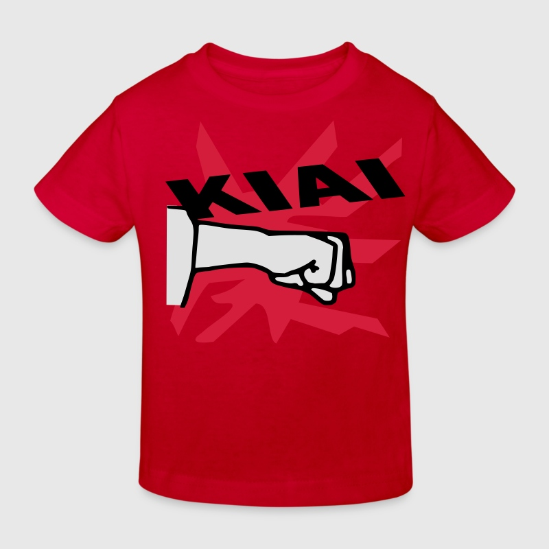 karate kiai - Kids' Organic T-shirt