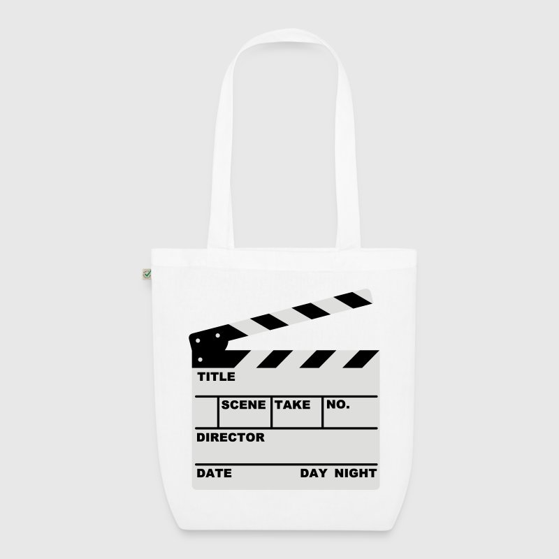 clapperboard - EarthPositive Tote Bag