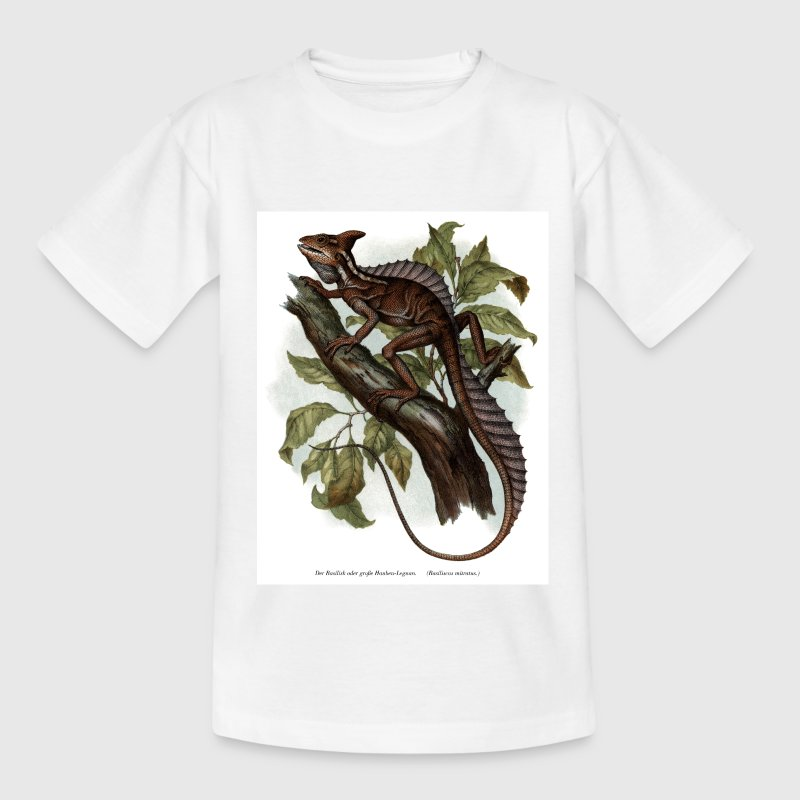 Basilisk_01t Kinder T-Shirt - Teenager T-Shirt