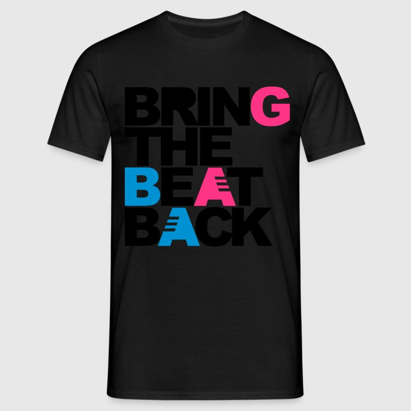 Noir Bring The Beat Back T-shirts - T-shirt Homme