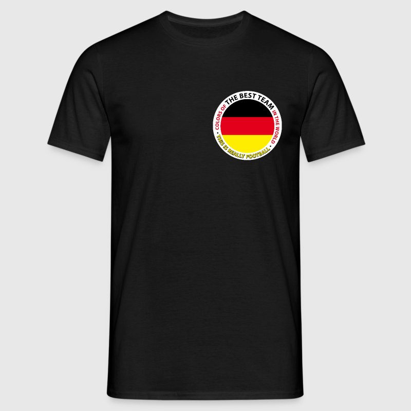 DEUTSCHLAND. COLORS OF THE WORLD. - Männer T-Shirt