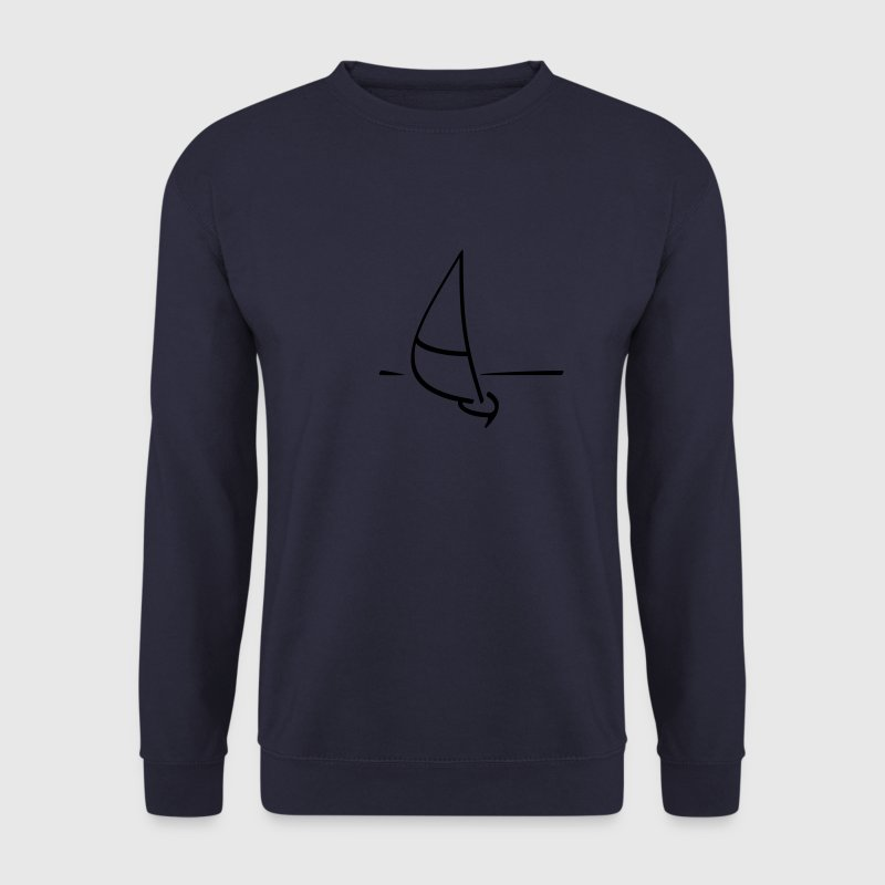 Navy Sailing ship Hoodies & Sweatshirts - Men's Sweatshirt
