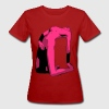Lila Sexy Erotic Woman T-Shirts - Frauen Bio-T-Shirt