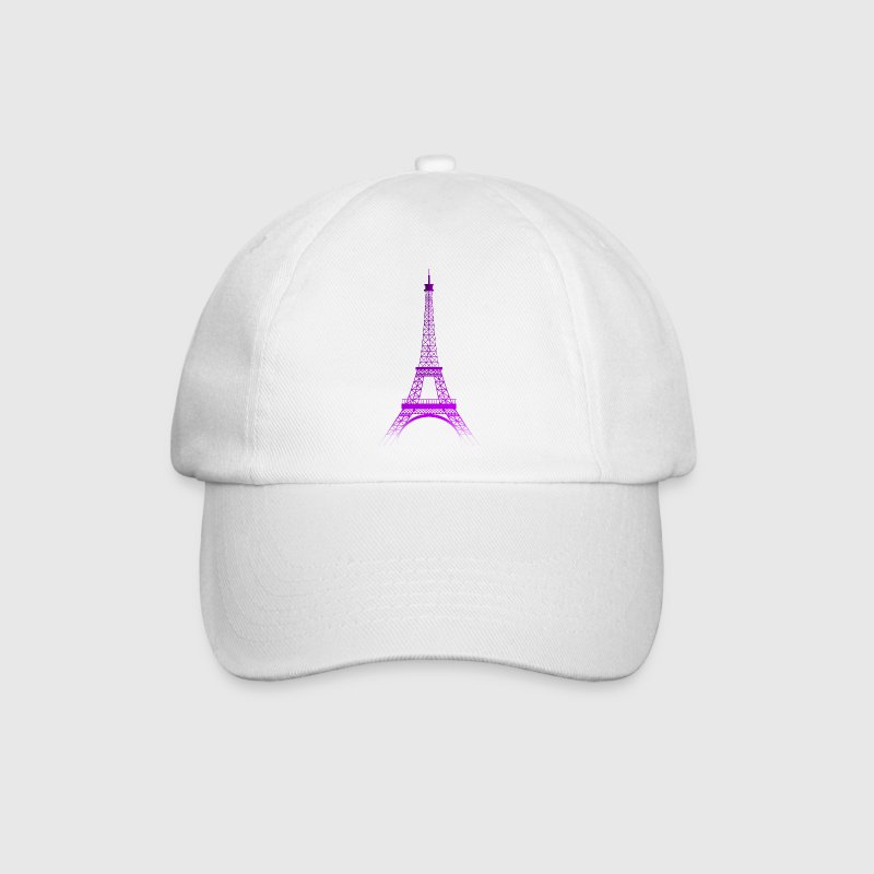 Eiffel Tower (gradient purple-purple) - Baseball Cap