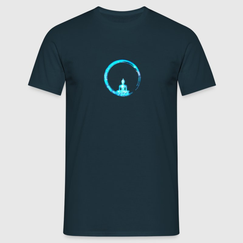 Enso, Zen Circle of Enlightenment, Buddha, Japan Camisetas - Camiseta hombre