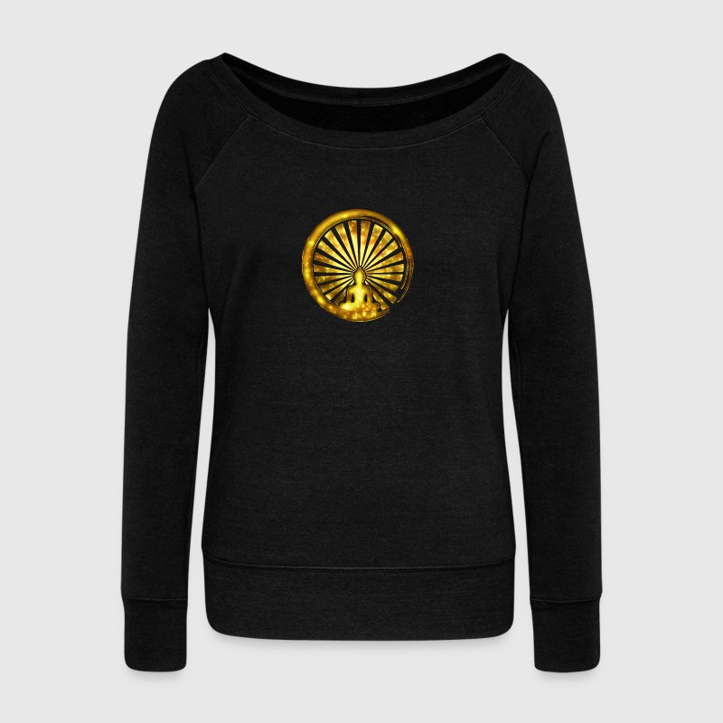 Enso, Zen, meditation, Buddha, Buddhism, Japan Sweat-shirts - Pull Femme col bateau de Bella