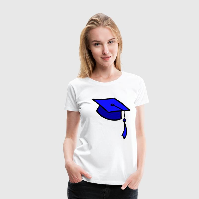 DE-College Graduation - Frauen Premium T-Shirt