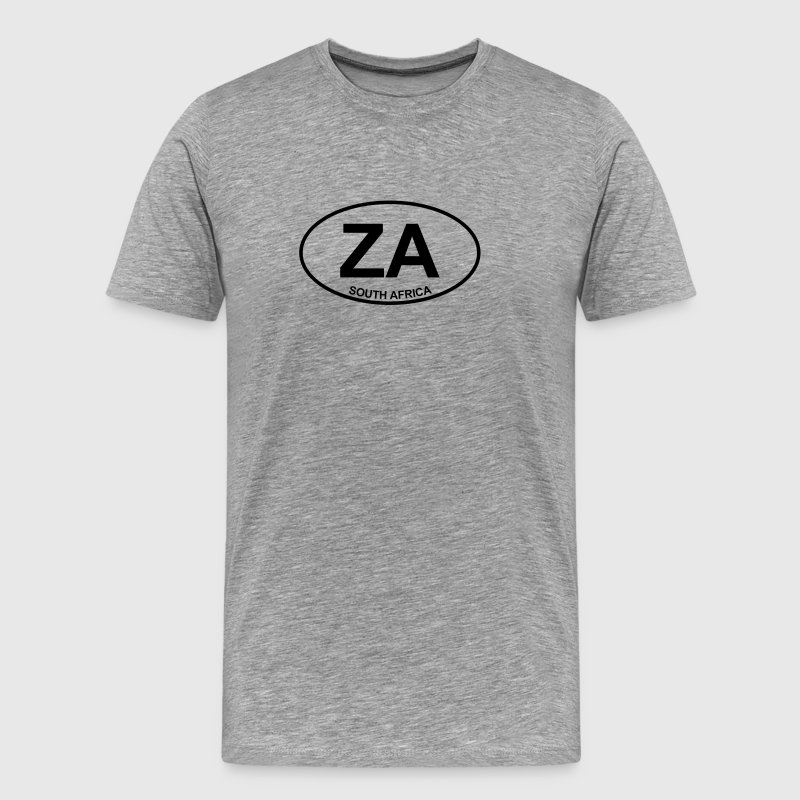 Ash ZA South Africa Men's Tees - Men's Premium T-Shirt