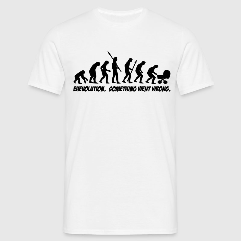 EHEvolution - something went wrong. - Männer T-Shirt