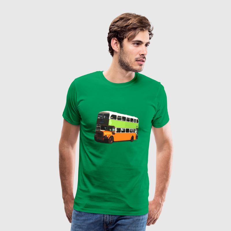 Kelly green Glasgow Corporation Bus Men's T-Shirts - Men's Premium T-Shirt