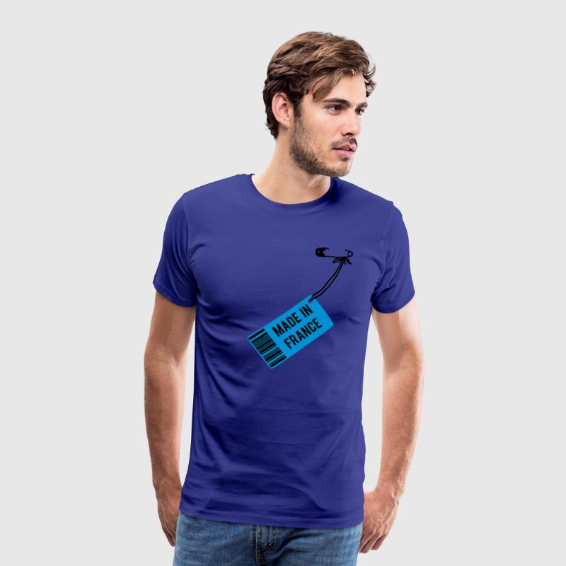 Sky Made in France Men's T-Shirts - Men's Premium T-Shirt