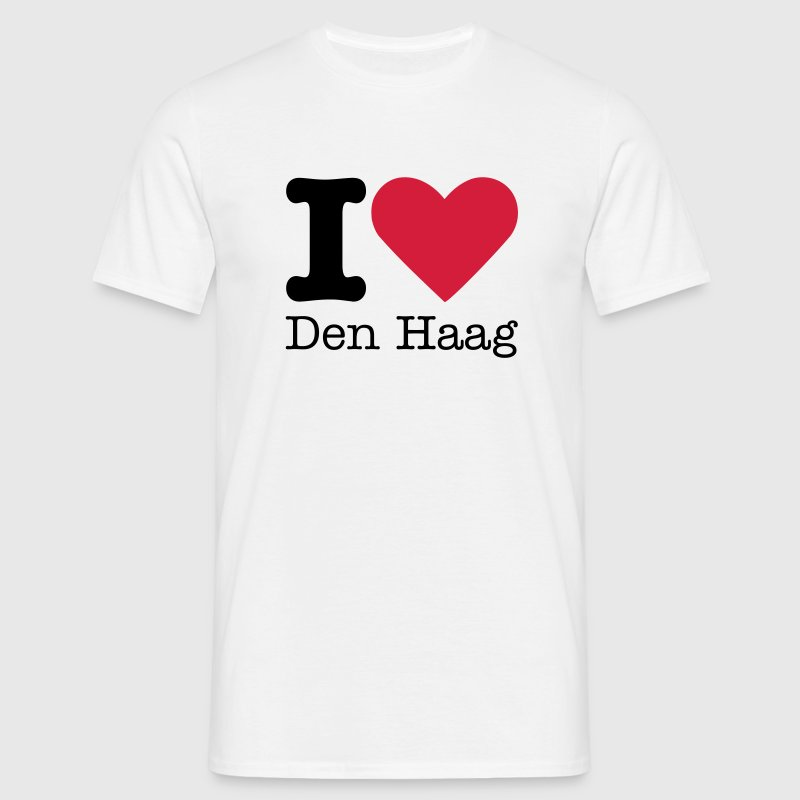 I Love Den Haag T-Shirts - Men's T-Shirt