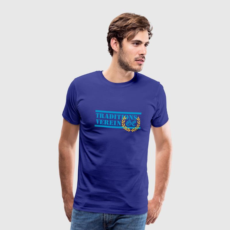 Royalblau Traditionsverein T-Shirts - Männer Premium T-Shirt