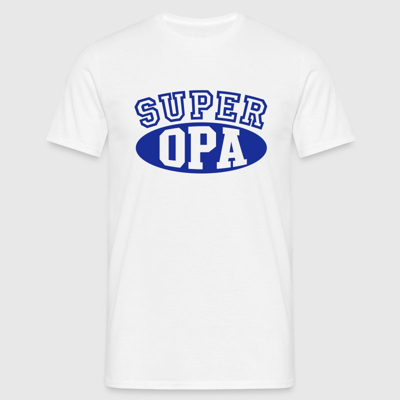 SUPER OPA T-Shirt - Mannen T-shirt