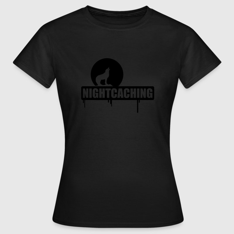 Nightcaching - glow in the dark - Vrouwen T-shirt