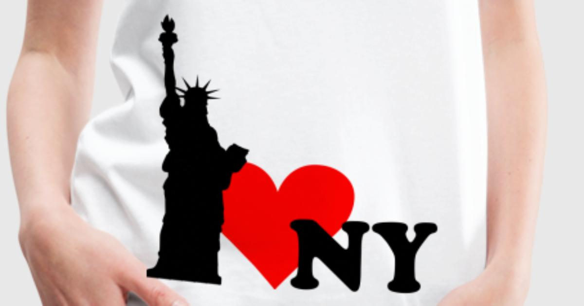 Tee shirt i love new york ny spreadshirt for I love new york coloring page