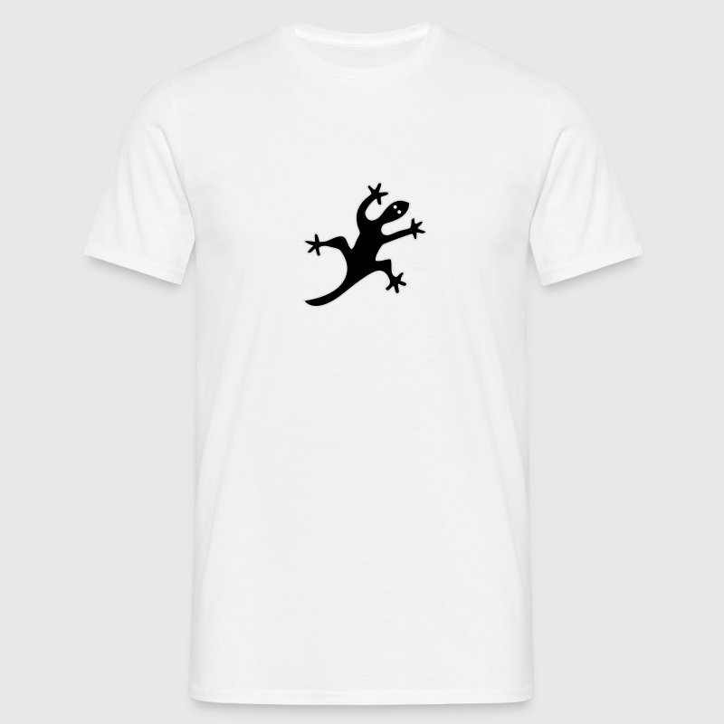 Aboriginal Lizard T-Shirts - Men's T-Shirt