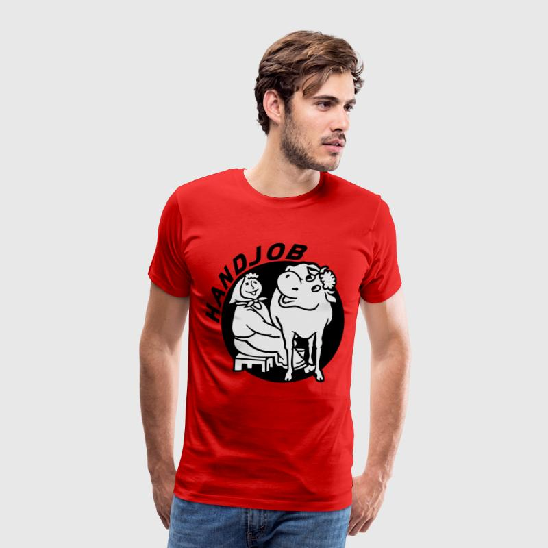 Handjob - Men's Premium T-Shirt