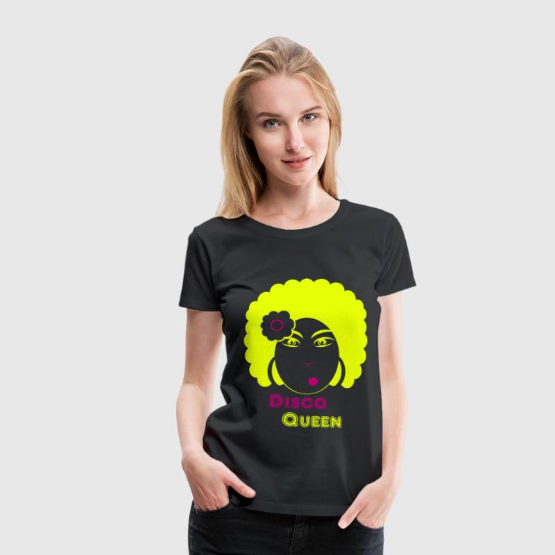 disco queen T-shirts - Vrouwen Premium T-shirt