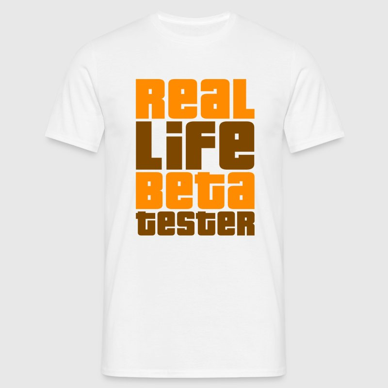 Real Life Beta Tester (Das Original!) - Männer T-Shirt