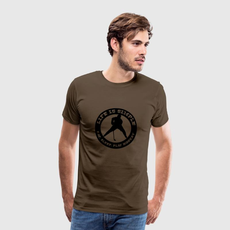 'Life is Simple' Men's T-Shirt - Männer Premium T-Shirt