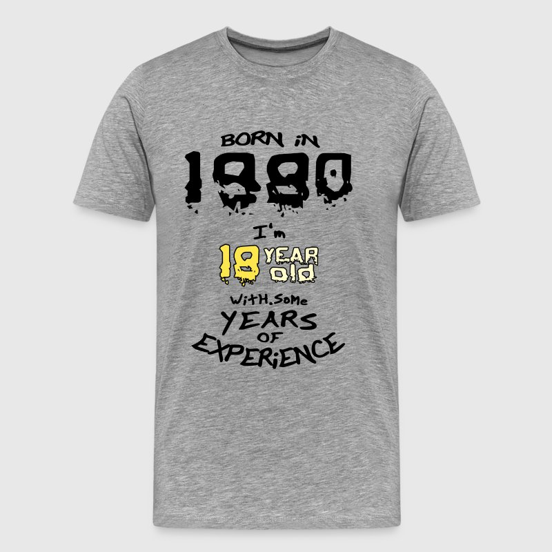 born in 1980 - Men's Premium T-Shirt