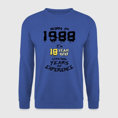 born in 1988 - Sweat-shirt Homme