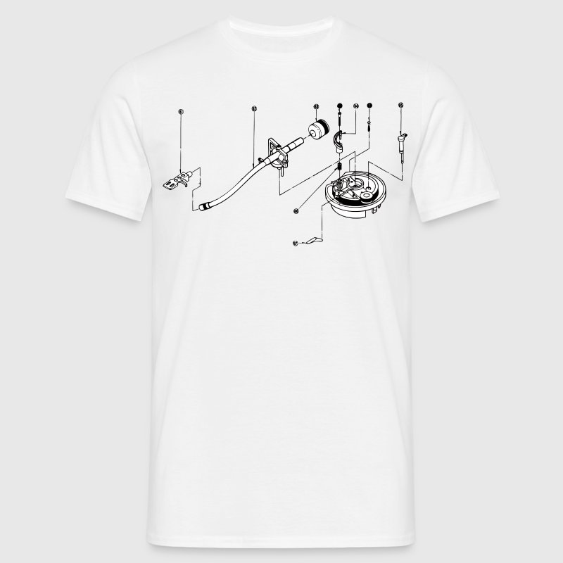 sl1200 exploded view T-shirts - Mannen T-shirt