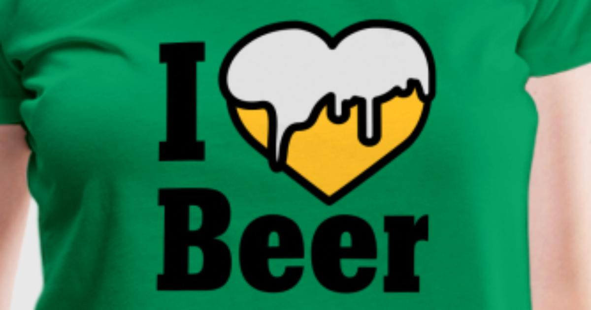 I love beer heart beer t shirt spreadshirt for I love beer t shirt