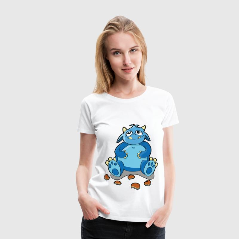Cookie Monster - la faim, la chapelure Tee shirts - T-shirt Premium Femme
