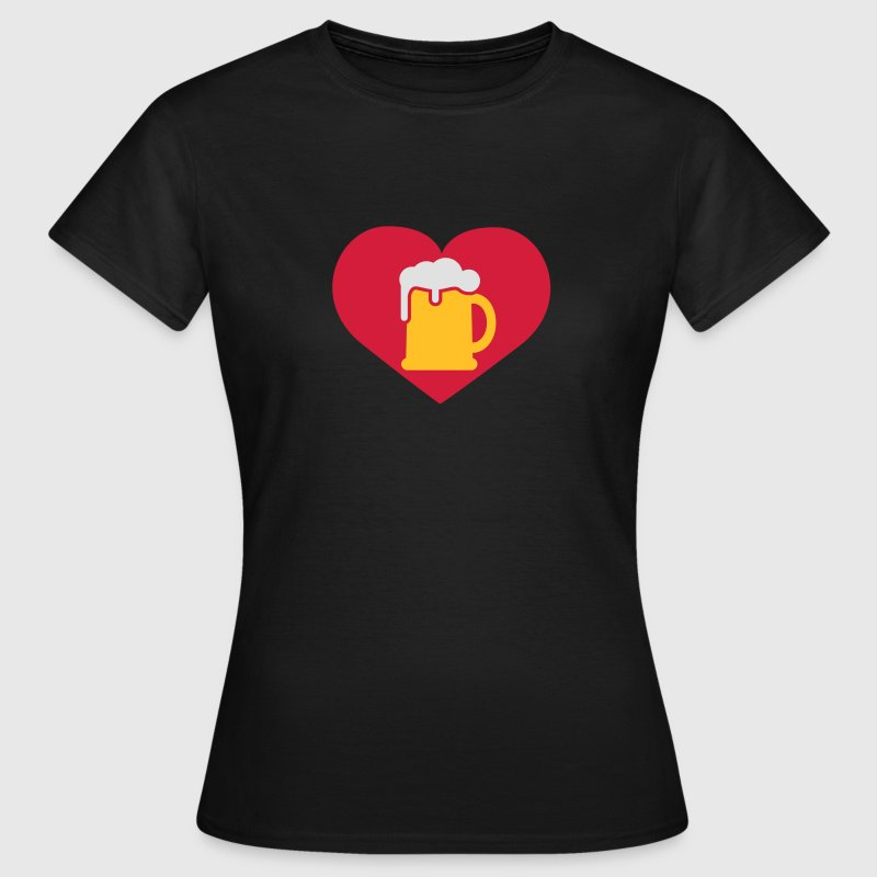 i love Bier | Beer | Herz | Heart | love beer T-Shirts - Frauen T-Shirt