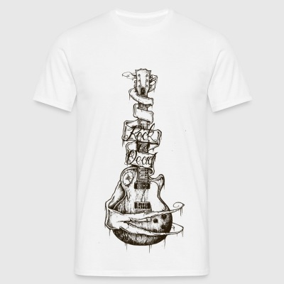 Rock is dead n&b - T-shirt Homme